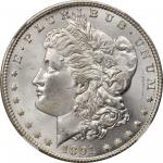 1891-CC Morgan Silver Dollar. MS-66+ (NGC).