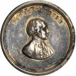 1859 Washington Cabinet Medal. Silver. 21.6 mm. 5.2 grams. Musante GW-240; Baker-325A; Julian MT-22.