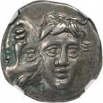 THRACE. The Danubian District. Istrus. AR Drachm (5.52 gms), ca. 4th Century B.C.