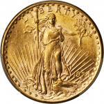 1924-D Saint-Gaudens Double Eagle. MS-61 (PCGS). Gold Shield Holder.