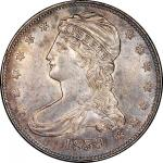 1839 Capped Bust Half Dollar. Graham Reiver-1. Rarity-7. Small Letters. Extremely Fine-45+ (PCGS).