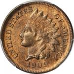1909-S Indian Cent. MS-65 RB (PCGS). CAC.