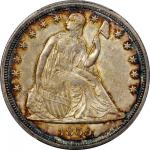 1859-S Liberty Seated Silver Dollar. MS-61 (PCGS).