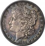 1884 Morgan Silver Dollar. Proof-63 (PCGS).