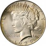 1935 Peace Silver Dollar. MS-66 (PCGS).