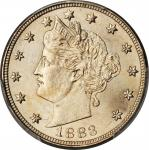 1883 Liberty Head Nickel. With CENTS. MS-67 (PCGS).