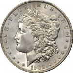 1903-S Morgan Silver Dollar. MS-65 (PCGS).