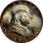1950 Franklin Half Dollar. MS-66+ (PCGS). CAC.