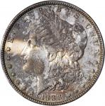 1888-O Morgan Silver Dollar. VAM-4. Top 100 Variety. Doubled Die Obverse, Hot Lips. AU-58 (PCGS). CA