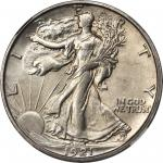 1921-S Walking Liberty Half Dollar. MS-63 (NGC). CAC.