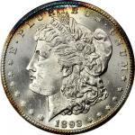 1893-CC Morgan Silver Dollar. MS-62 (NGC). CAC. OH.