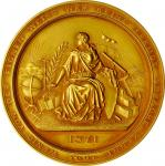 1929 Normal College of the City of New York Award Medal. Gold. About Uncirculated.