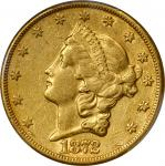 1872-CC Liberty Head Double Eagle. EF-45 (PCGS).