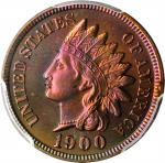 1900 Indian Cent. Proof-66 RB (PCGS).
