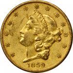 1859-O Liberty Head Double Eagle. EF-45 (PCGS).