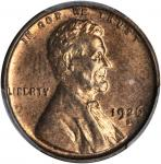 1926-S Lincoln Cent. MS-63 RD (PCGS).