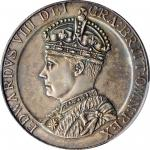 "GREAT BRITAIN. Edward VIII ""Coronation"" Silver Medal, ""1937"". PCGS SPECIMEN-63 Gold Shield."