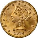 1894 Liberty Head Eagle. MS-65 (PCGS).
