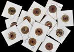 朝鲜花钱。20枚。KOREA. Choson Dynasty. Solid Longevity Chatelaine Plus Charms and Cash (20 pieces), ND (ca.