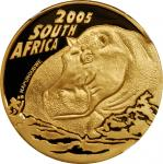 SOUTH AFRICA. 100 Rand, 2005. Natura Series. NGC PROOF-70 Ultra Cameo.