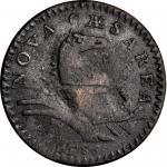 1786新泽西铜币 PCGS VF Details