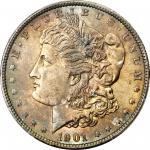 1901 Morgan Silver Dollar. MS-63+ (PCGS). CAC.