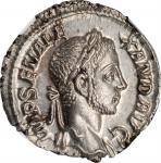 SEVERUS ALEXANDER, A.D. 222-235. AR Denarius, Rome Mint, A.D. 229. NGC MS.