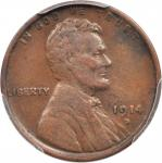 1914-D Lincoln Cent. VF-35 (PCGS).