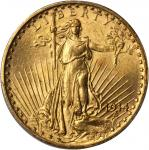 1914-S Saint-Gaudens Double Eagle. MS-64 (PCGS).