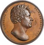 GREAT BRITAIN. George IV Coronation Bronze Medal, 1821. CHOICE ALMOST UNCIRCULATED.