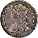 1836 Capped Bust Quarter. AU Details--Cleaned (NGC).