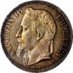 FRANCE. 5 Francs, 1870-A. Paris Mint. Napoleon III. PCGS MS-63 Gold Shield.