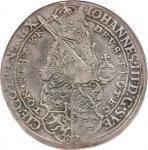 SWEDEN. Daler, 1586. Stockholm Mint. Johan III (1568-92). NGC VF-35.
