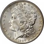 1889-S Morgan Silver Dollar. MS-66 (PCGS). CAC.