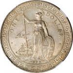 GREAT BRITAIN. Trade Dollar, 1930-B. NGC MS-63.