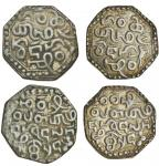 Assam, Gadadhara Simha (Siu-pat-pha) (1681-96), octagonal Rupees (2), 11.20, 10.82g, legends as prev