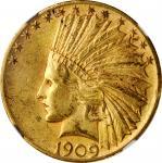 1909-S Indian Eagle. AU-58 (NGC).