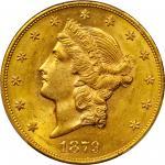 1879-S Liberty Head Double Eagle. MS-62 (PCGS).