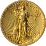MCMVII (1907) Saint-Gaudens Double Eagle. High Relief. Wire Rim. EF-45 (PCGS).