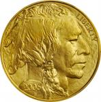 2006 One-Ounce Gold Buffalo. MS-70 (PCGS).