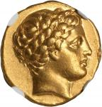 MACEDON. Kingdom of Macedon. Philip II, 359-336 B.C. AV Stater (8.53 gms), Amphipolis Mint, ca. 323-