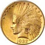 1932 Indian Eagle. MS-62 (PCGS). CAC.