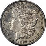 1893-S Morgan Silver Dollar. EF-45 (PCGS).