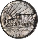 1938-D Oregon Trail Memorial. MS-66 (PCGS).