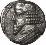 PARTHIA. Gotarzes II, ca. A.D. 44-51. BI Tetradrachm, Seleukeia on Tigris Mint, Year 360 (A.D. 48/9)