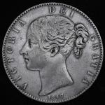 GREAT BRITAIN Victoria ヴィクトリア(1837~1901) Crown 1847 F~VF