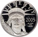 2005-W Tenth-Ounce Platinum Eagle. Proof-70 Deep Cameo (PCGS).