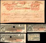 COLOMBIA. Colombia Financial Ephemera. Uncertified Items.