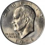 1974-D Eisenhower Dollar. MS-67 (PCGS).