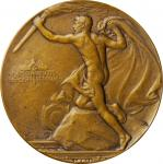 (ca. 1906) United States Medal for Life Saving on Railroads. Bronze. 44 mm. By Adolph Alexander Wein